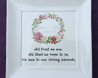Mother Of The Bride Gift - Wedding Gift For Mom - Mother Of The Bride Poem-Mother Wedding Gift-Thank You Mom-Parents Wedding Gift-ELEGWREATH