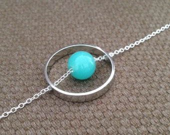 Necklace Saturn Short Necklace