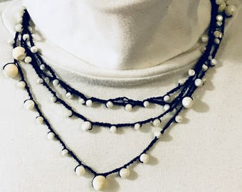 Pearl necklace reinvented
