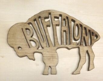 Buffalo trivet handmade