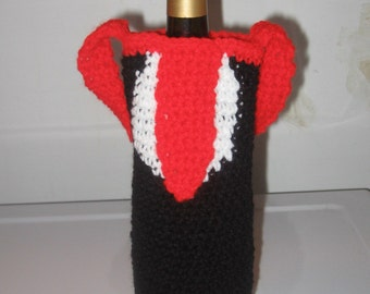 Tuxedo Wine Bottle Cozy