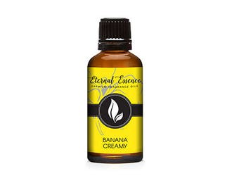Banana Creamy Premium Grade Fragrance Oil - 30ml
