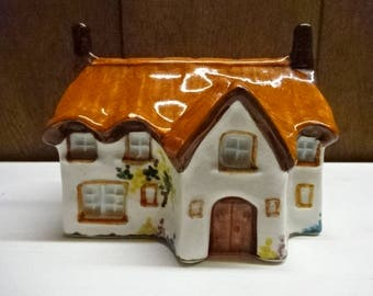 Toni Raymond Pottery/Pot Pourri Holder/Country Cottage/Country Kitchen/Collectable/Vintage/1970s