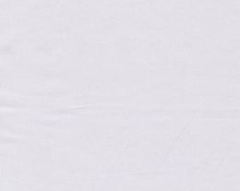 Cotton Sateen White PFD Fabric - 10 yards