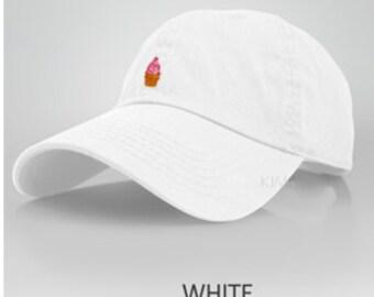 Ice Cream Cone Dad Hat
