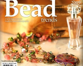 NEW Bead Trends Magazine April 2009 SBC