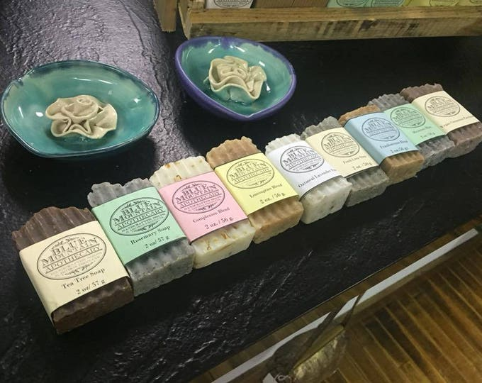 Handcrafted Soap Three Bars for Ten