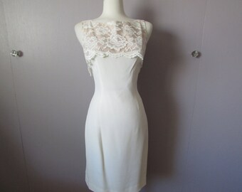 Double Breasted Lace Jacket Dress from Miss Melinda
