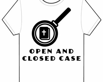 Open And Closed Case (T-Shirt)