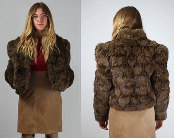 Vintage / Brown Fur Coat