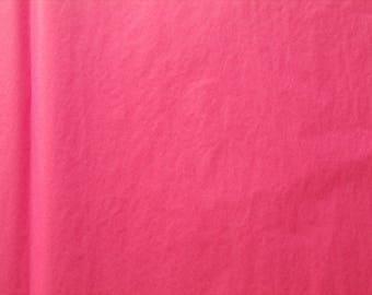 Set of 5 hot pink tissue paper size 50 cm * 75 cm