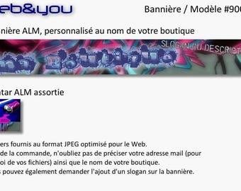 Custom banner, avatar and shop 'Tag'