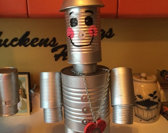 Tin man made to order