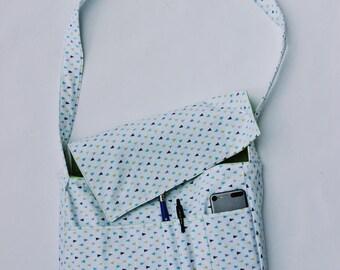 Dotted Messenger Bag