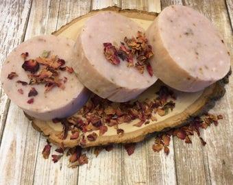 Palmarosa Soap- Hot Process