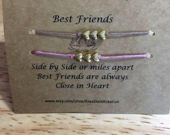 Wish bracelet - Best friend set