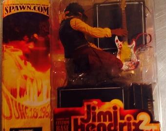 JImi Hendrix at Monterey Pop Festival figure guitar amplifier