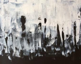 "Acrylic on canvas ""Vivian"" Modern Art Modern style acrylic original abstract painting on canvas"