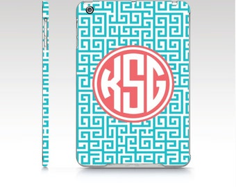 Personalized iPad Case   iPad mini cover  iPad Air case   Monogram iPad Cover