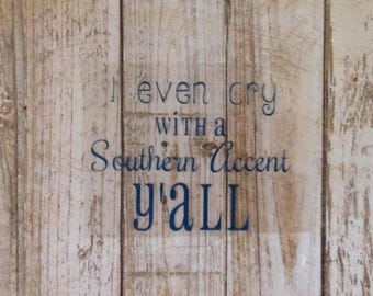 Southern Baby Sayings/Iron On/Vinyl Decals/Iron-ons/Personalize s/DIY
