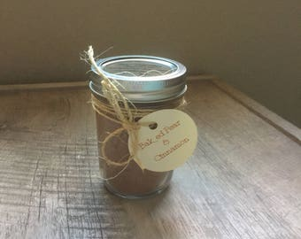 100% Soy Wax Candle ~ Baked Pear & Cinnamon ~ Fall Fragrances
