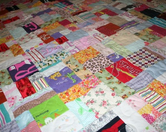 Custom Made Quilts - from your old but special clothes