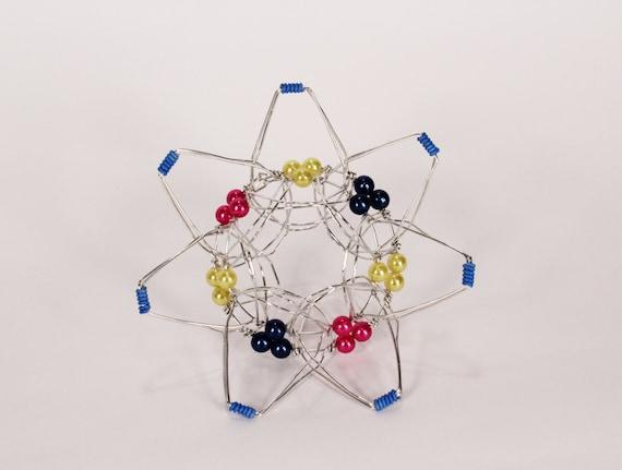 Space flower meditation toy lotus flower handmade mandala mightylinksfo