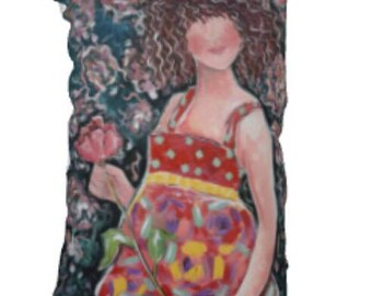 Poppy: Fine Art Pillow