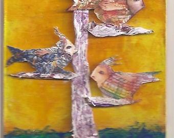 Birds in a Tree 1