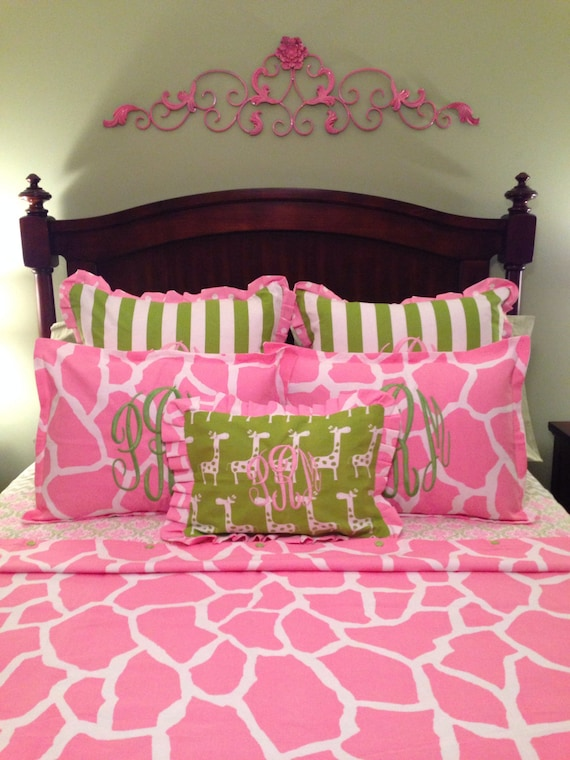Well-known Daybed Duvet Comforter cover Pink Giraffe Print Twin Twin XL SI32