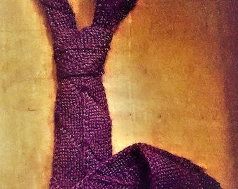 Mitered Square Neck Tie Pattern