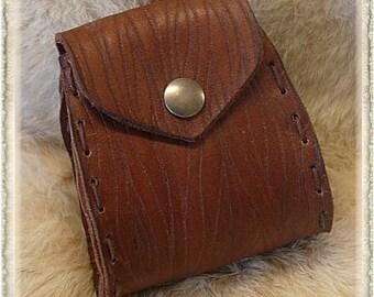 Leather bag / pouche