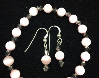Little Girls Bracelet and Earrings