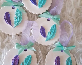 perfumed ornament baby shower favors