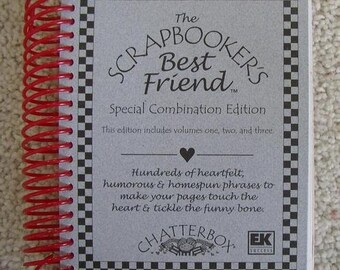The Scrapbooker's Best Friend (set of 2)