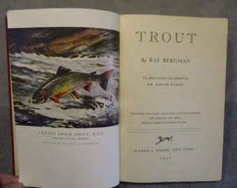 Trout by Ray Bergman, book