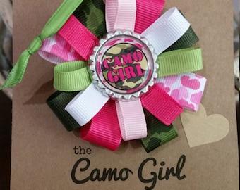 The Camo Girl Collection - Hair Bows