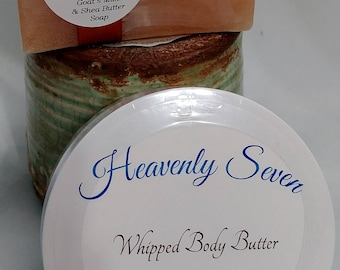 Save 15% on this set! Natural Skin Care - Soap & Body Butter ~ Check it out!