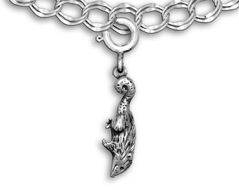 Sterling Silver Possum Charm