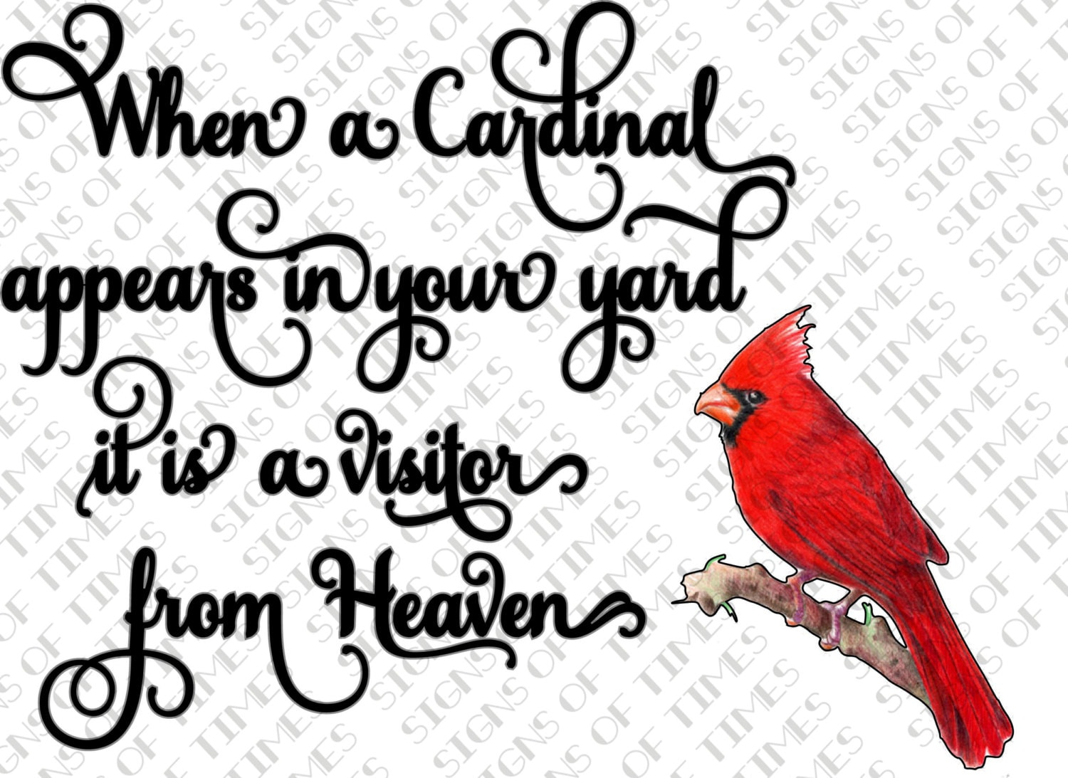 When a cardinal appears in your yard visitor from heaven zoom buycottarizona