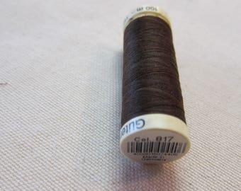 Sewing thread Brown n 817 Gütermann 100% polyester