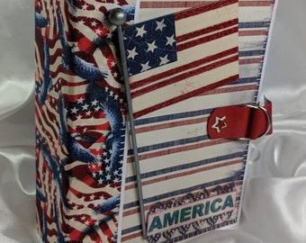 "Red, White, Blue ""America"" Photo Mini Album"