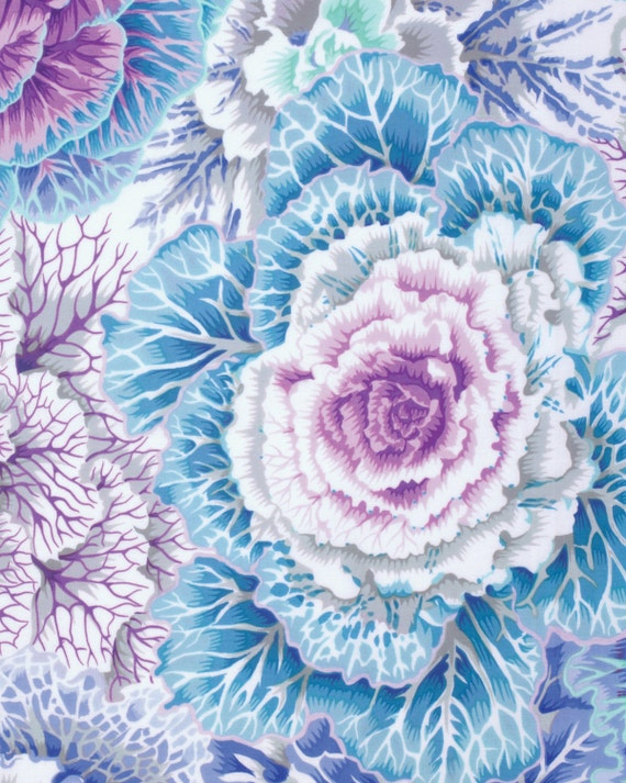BRASSICA SKY Fall 2015 Philip Jacobs for Kaffe Fassett Collective Sold in 1/2 yd increments