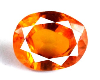 6.55 Ct Natural Untreated Oval IGL Certified Rare Tajikistan Clinohumite Charming Gemstone
