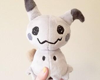 Shiny Mimikyu Plush Doll - Poekmon Fan Plushie Toy