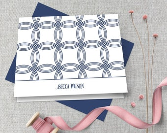 Personalized Stationery / Personalized Stationary Set / Monogram Stationary / Custom Stationary / Personalized Thank You Note Card Set