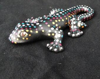 Ceramic Lizard Figurine