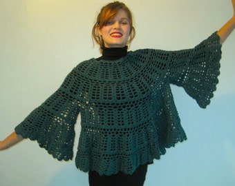 Basia's Black, Green, Mauve or Grey Angel Sweaters - Now on sale for only 140 USD from 240 USD!