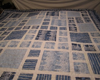 Blue Trees Quilt