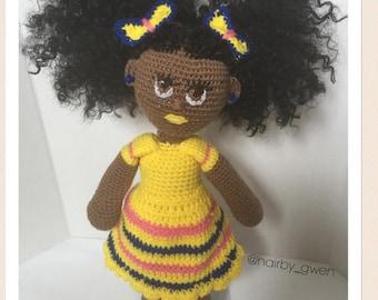 Crochet Cuddler Essence doll